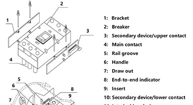 How to install a molded case circuit breaker?